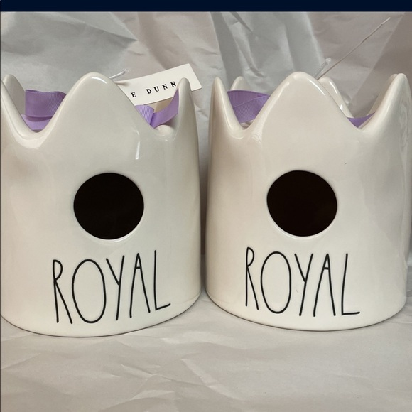 Rae Dunn Crown Royal Birdhouse
